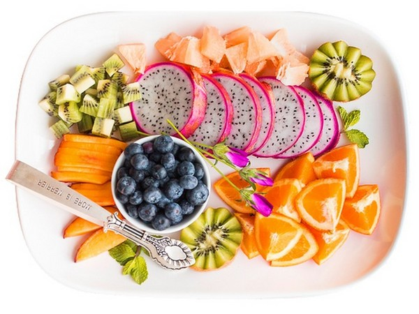 Snack Board Obst