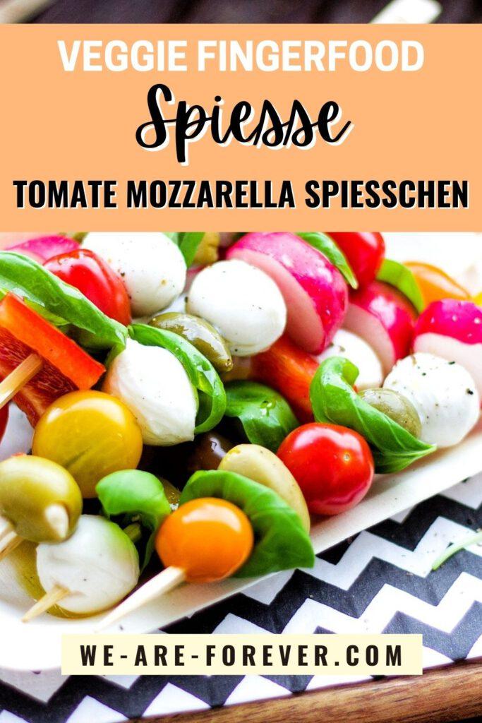 tomate mozzarella spießchen