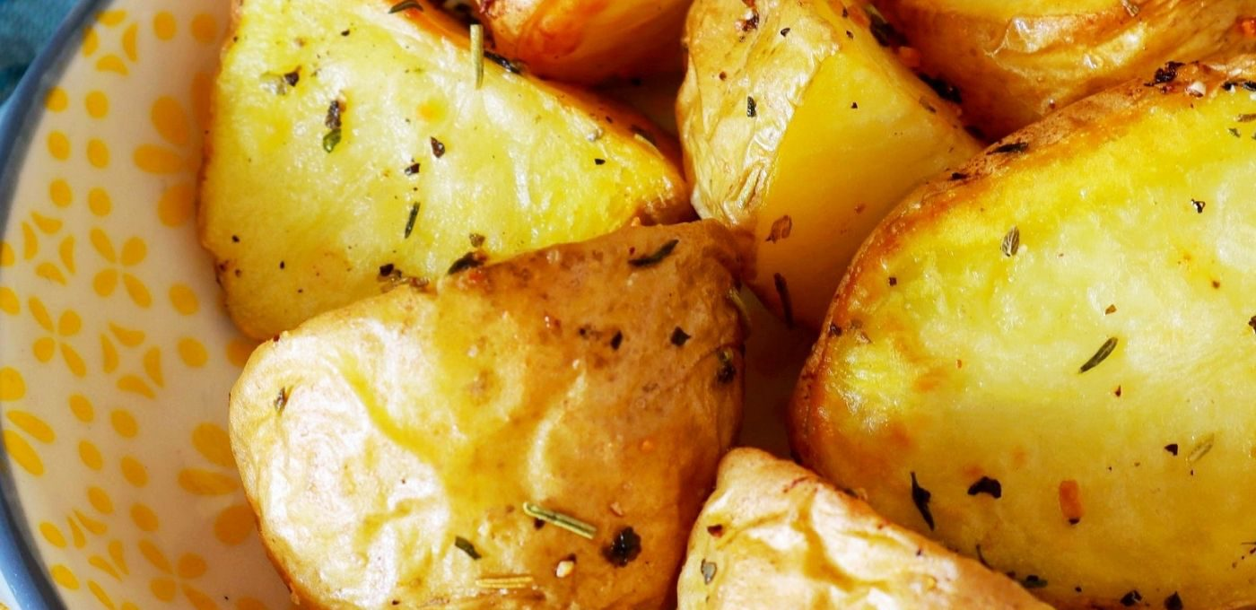 Kartoffel Rezept: Gebackene Kartoffeln aus dem Ofen mit Dip