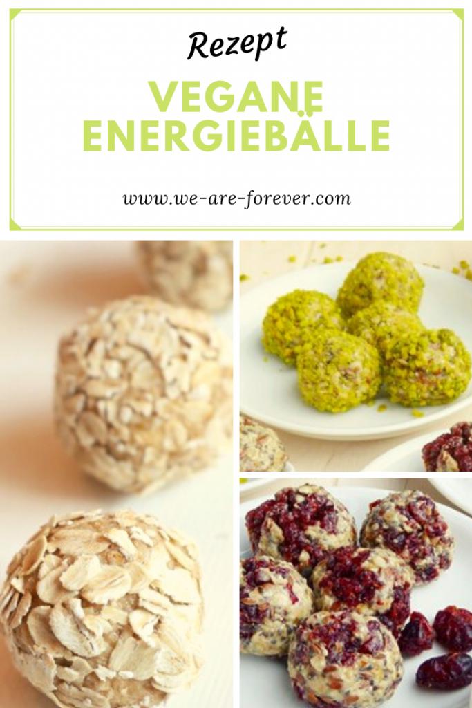 Rezept vegetarische Energiebälle