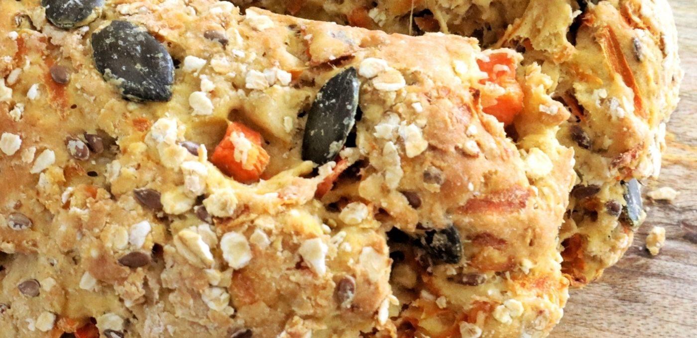 Karotten-Roggen-Brot
