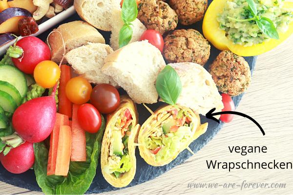 vegane mini wraps rezept einfach