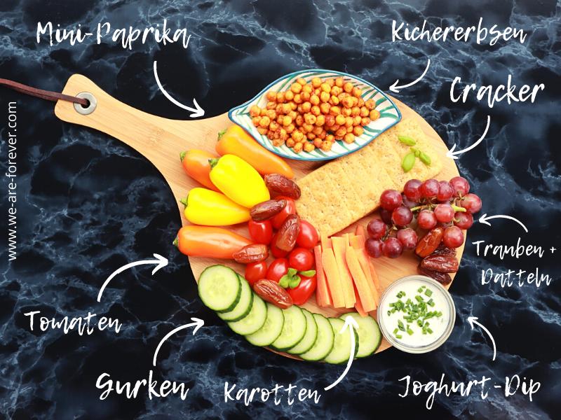 gesundes fingerfood vegan