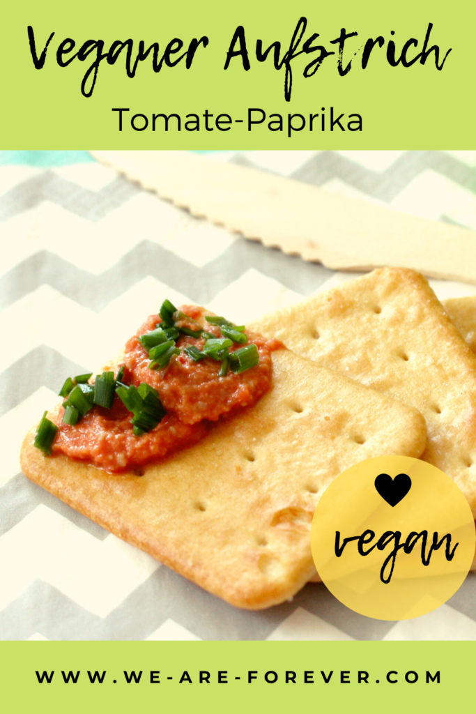 einfaches rezept veganer tomate paprika aufstrich