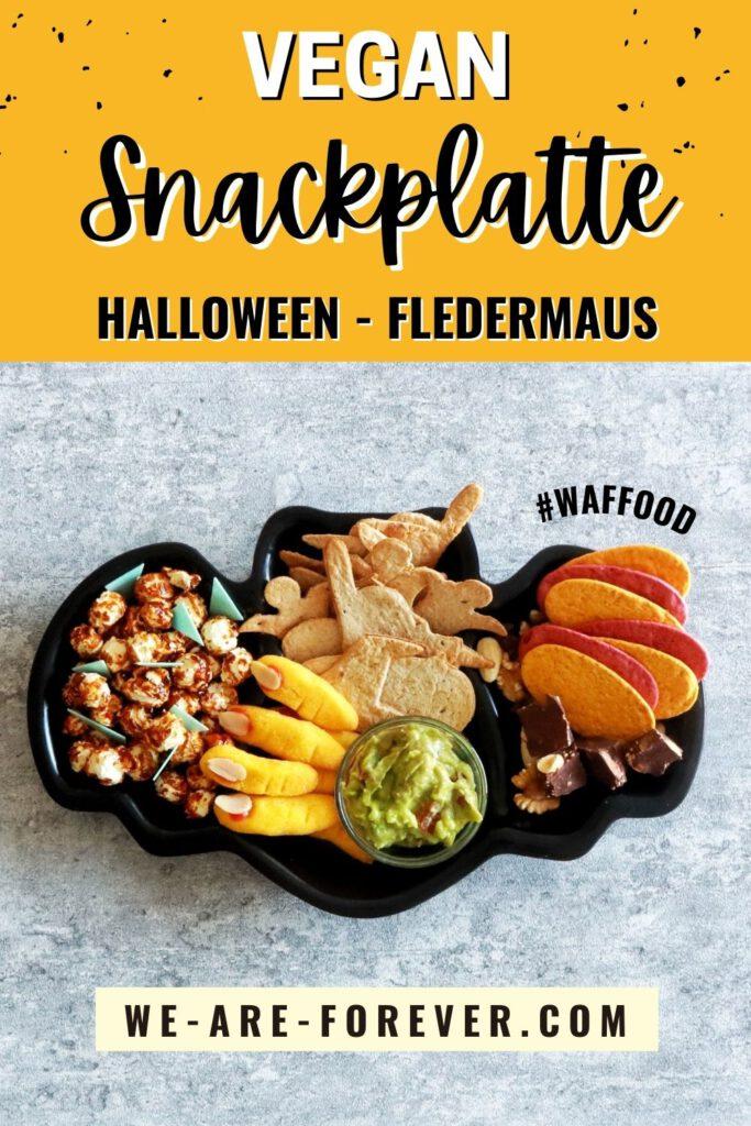halloween snackplatte