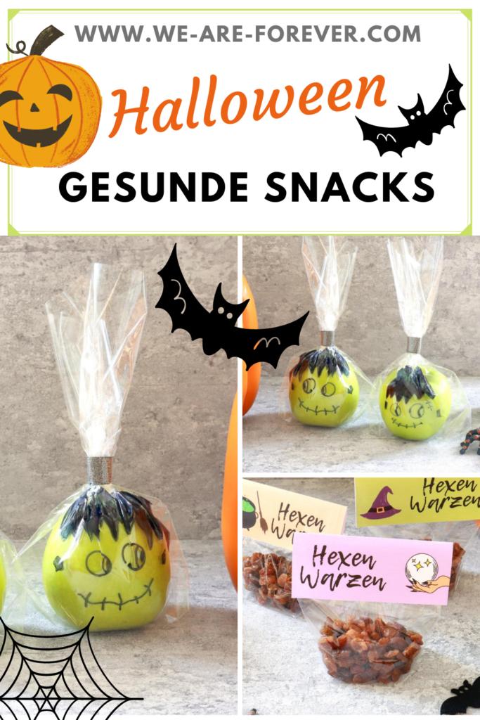 gesundes snacks für halloween