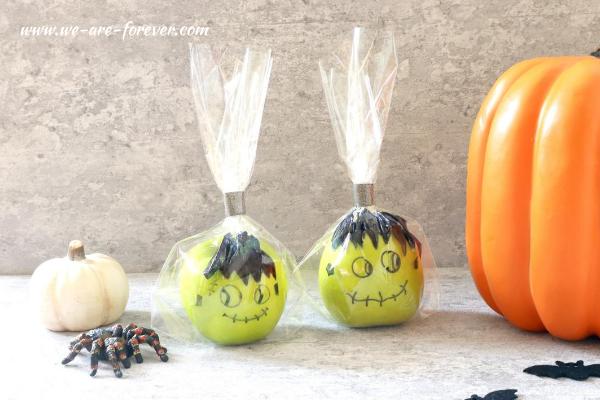 halloween gesunde snacks für kinder