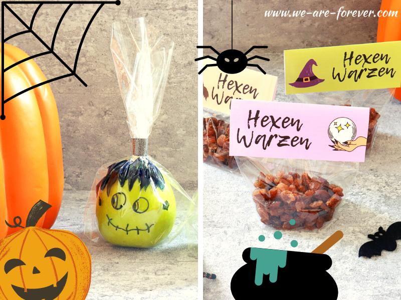 Gesunde Halloween Snacks für Kinder