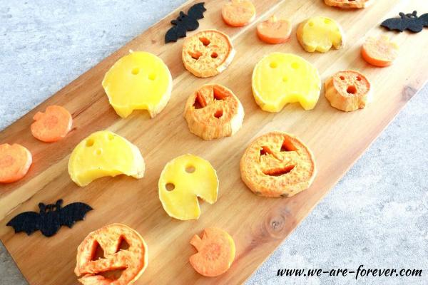 Kartoffel Figuren mit Gesicht