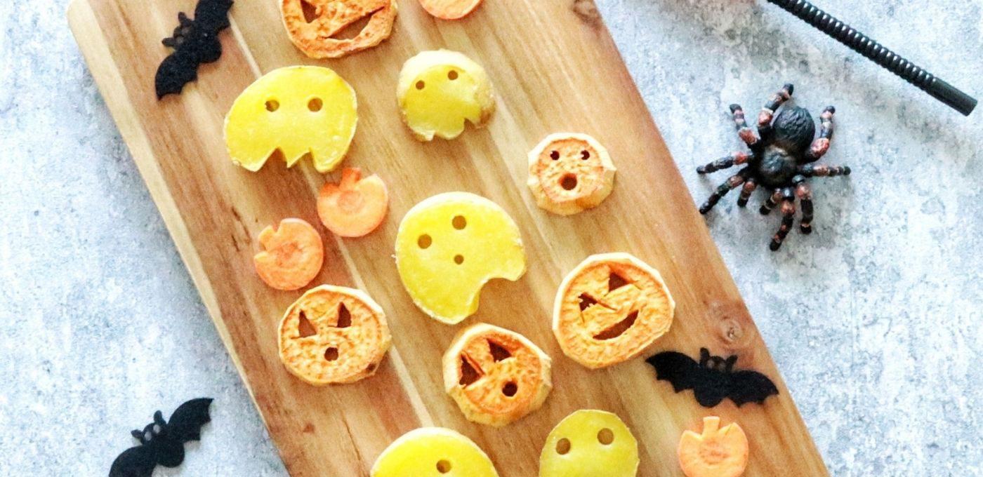 Kartoffelfiguren aus Süßkartoffeln und Co.