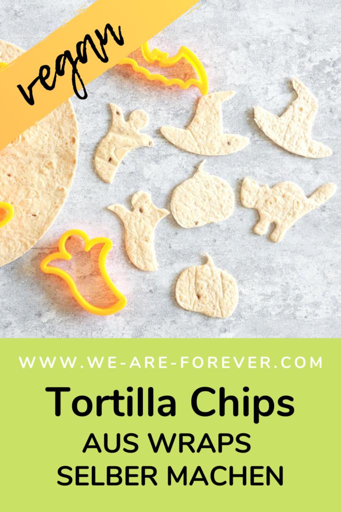 tortilla chips aus wraps machen