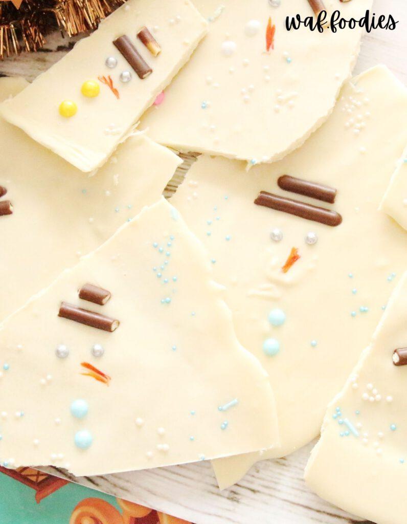 bruchschokolade-schneemaenner