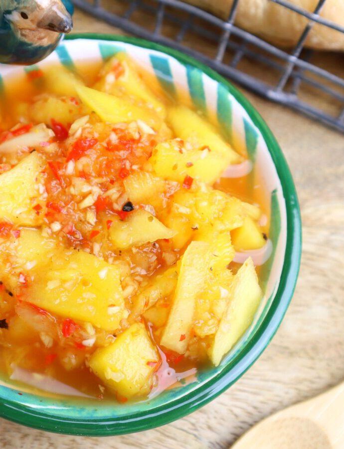 Mango Chutney ohne kochen