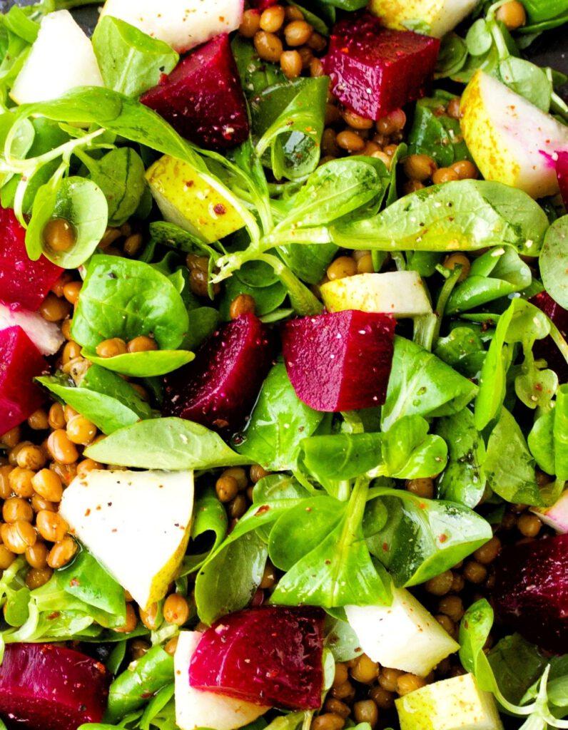 rote bete salat vegan