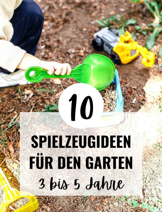 Gartenspielzeug für Kinder ab 3 Jahre
