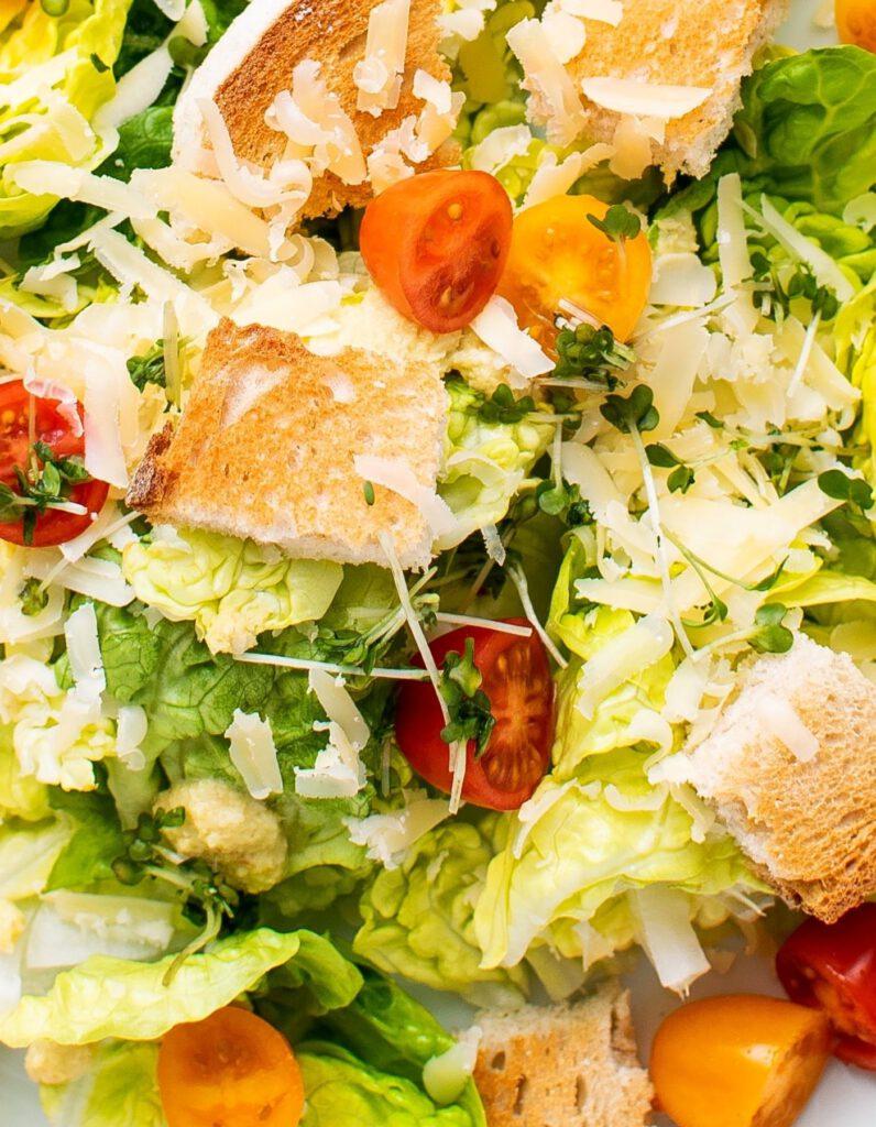 veganer brotsalat italienisch