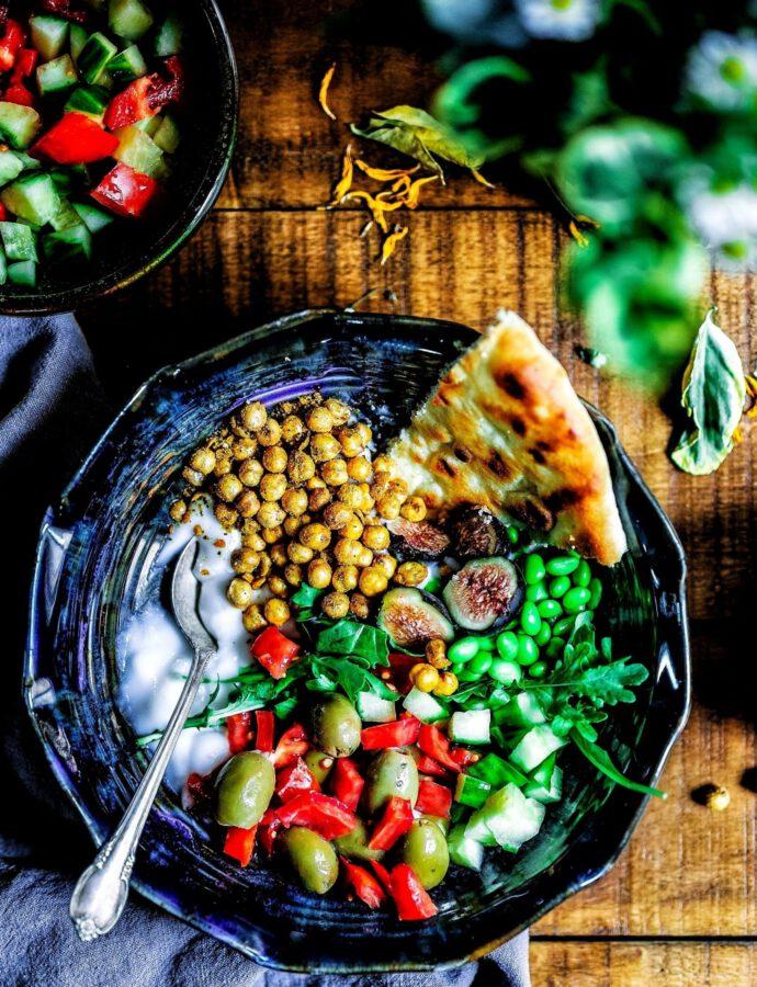 Vegane Salatbowl