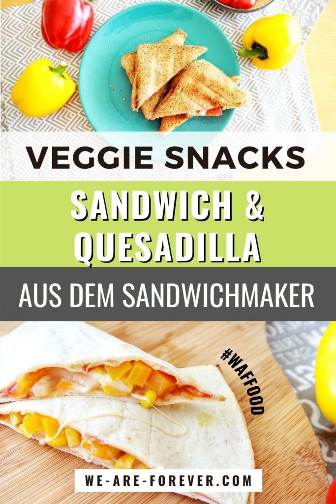 vegetarische rezepte sandwichmaker