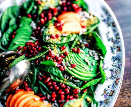 Avocadofächersalat