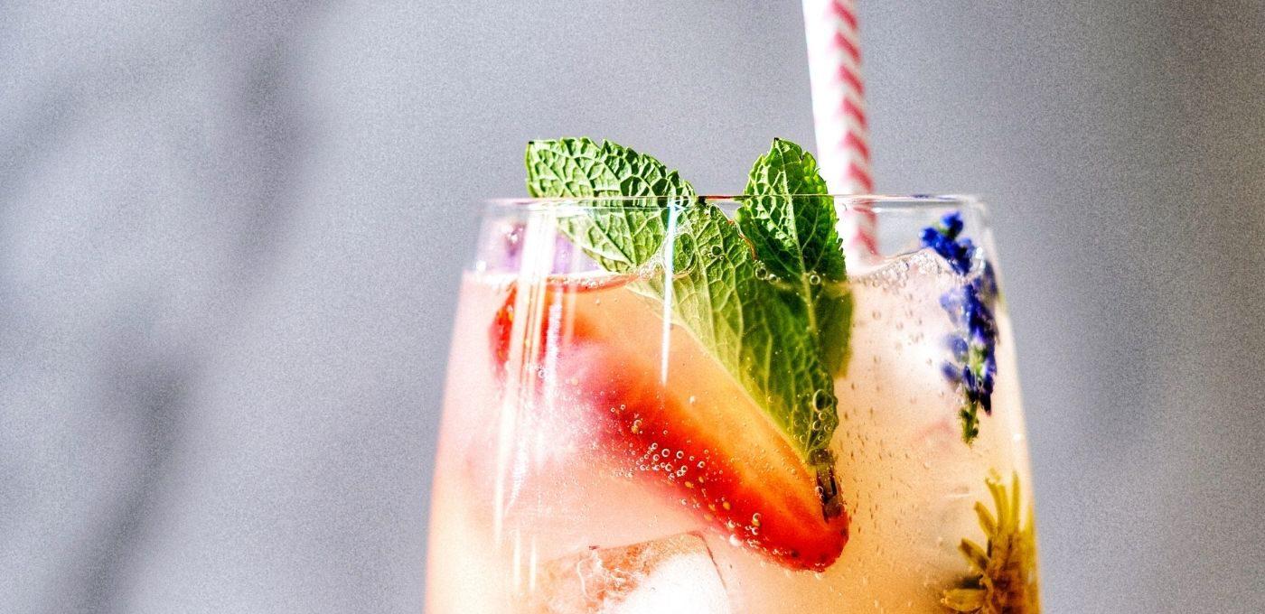 Erdbeerdrink ohne Alkohol