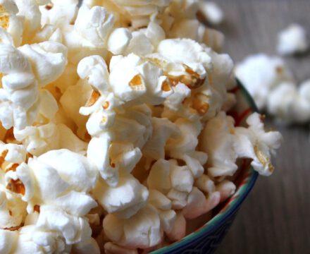Popcorn selber machen im Topf