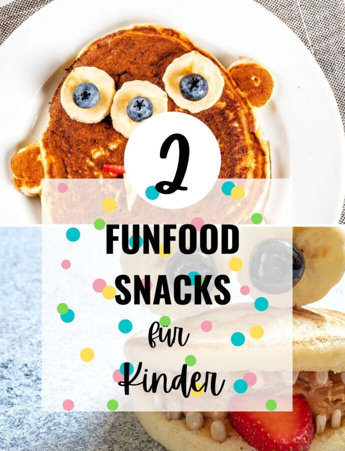 Fun Food Rezepte für Kinder