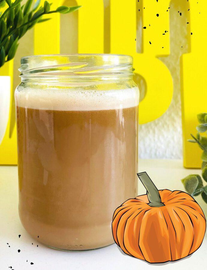 Veganer Pumpkin Spice Latte