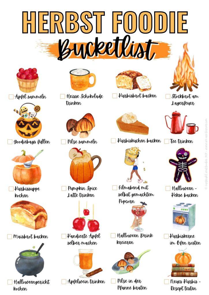 herbst foodie bucketlist