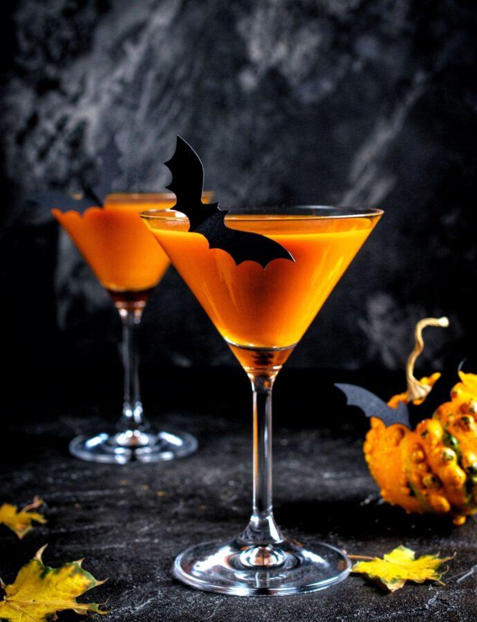 Veganer Karotten Cocktail ohne Alkohol
